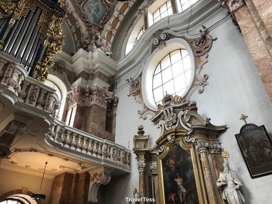 Interieur Dom van Innsbruck