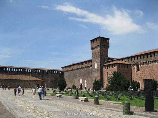 Castello Sforzesco kasteel