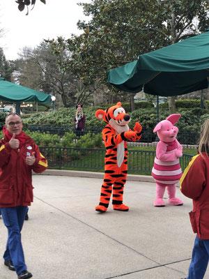 Knorretje en Tijgertje in Disneyland Parijs