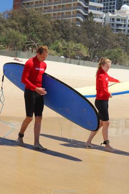 Surfen in Gold Coast