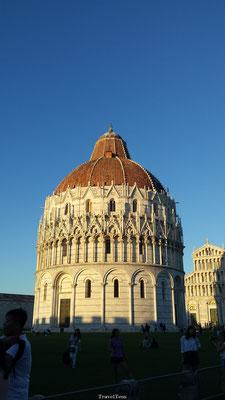 Plein van de Toren van Pisa