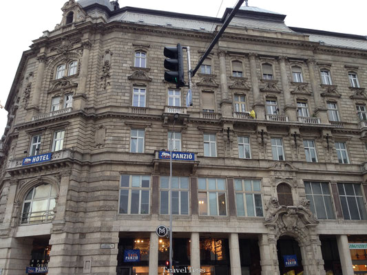 Leo Panzio hotel Boedapest