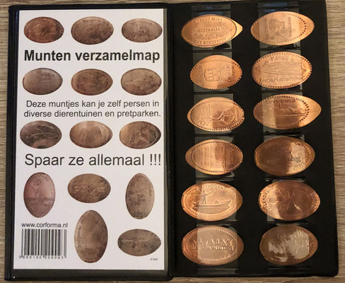 Mapje Penny Coins