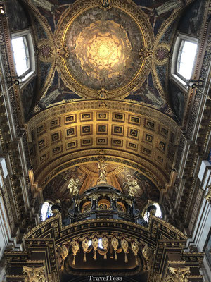 St. Pauls Cathedral interieur
