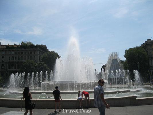 Fontein in Milaan