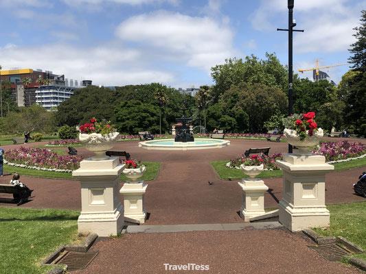 Fontein in park Auckland