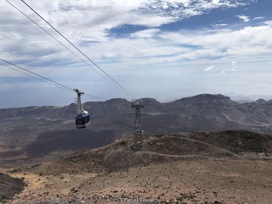 Uitzicht over El Teide krater