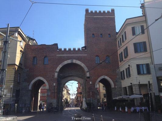 Straatbeeld Milaan