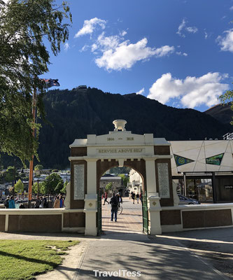 Poort in Queenstown