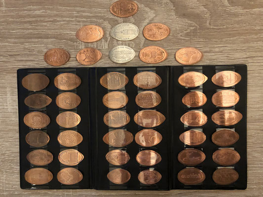 Penny Coin verzameling