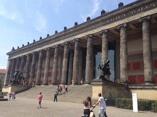 Griekse bouwstijl in Berlijn