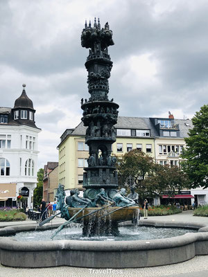 Geschiedenis zuil Koblenz