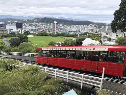 Beroemde kabelbaan van Wellington