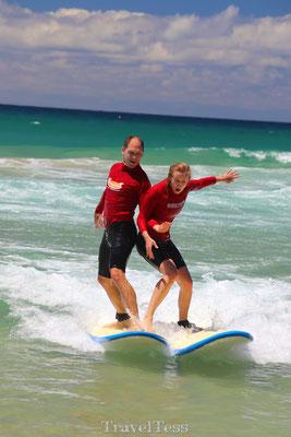 Botsen surfles