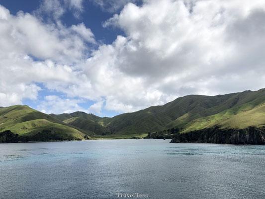 Prachtige oversteek eilanden Nieuw-Zeeland