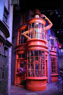 Weg is Weg Harry Potter Museum