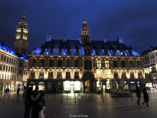 Centraal plein in Lille