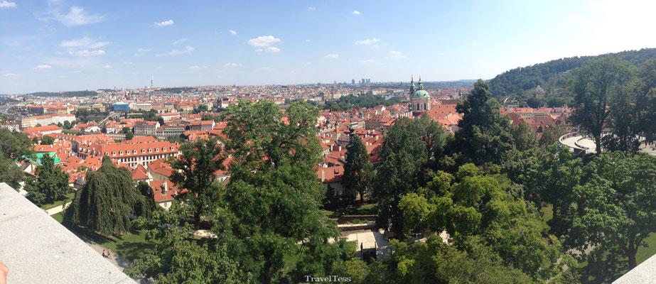 Panorama Praag