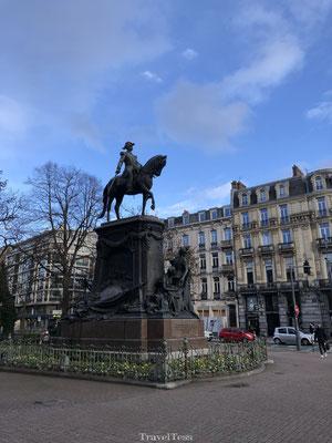 Ruiterstandbeeld in Lille