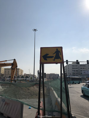 Verkeersbord Doha :-)