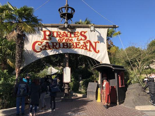 Pirates of the Caribean Disneyland Parijs