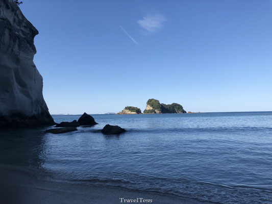 Hiken naar Cathedral Cove