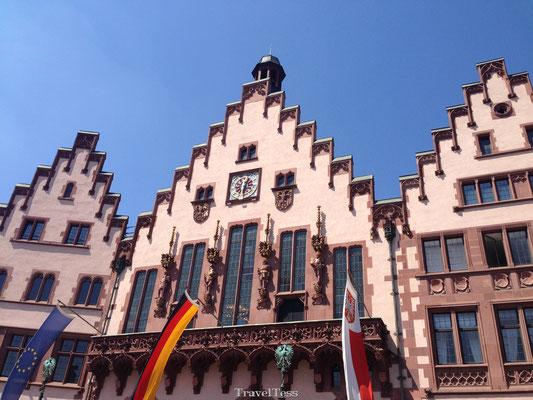Oude stadscentrum Frankfurt