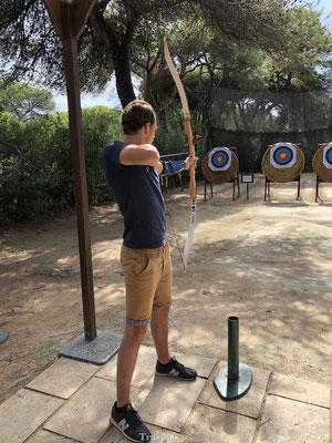 Robinson Club Apulia boogschieten