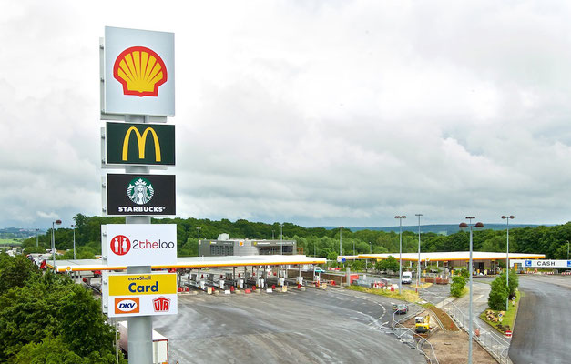 Luxemburg Shell Station