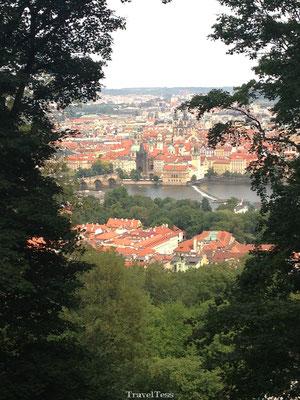 Uitzicht heuvel Praag