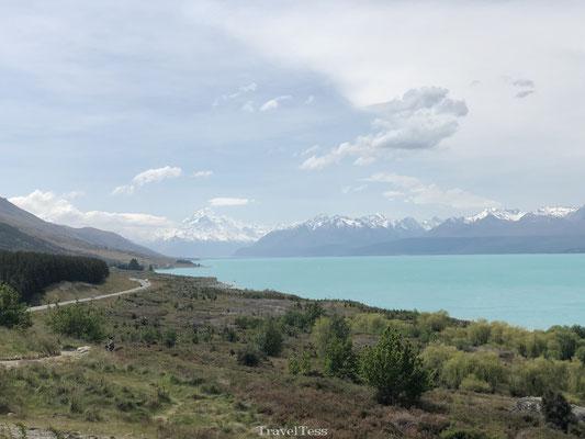 Lake Pukaki Nieuw-Zeeland