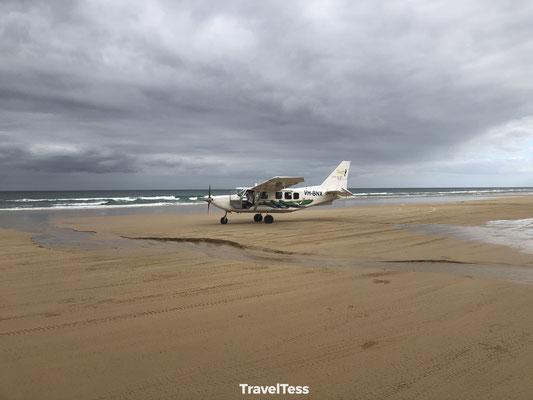 Recreatievlucht over Fraser Island