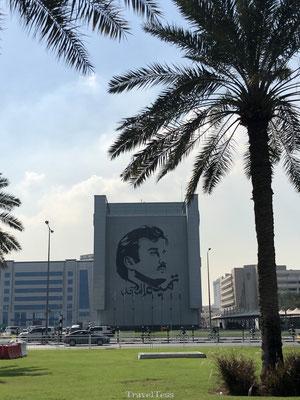 Straatbeeld Qatar