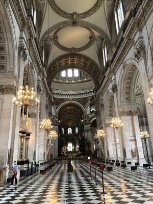 Interieur St. Pauls kerk