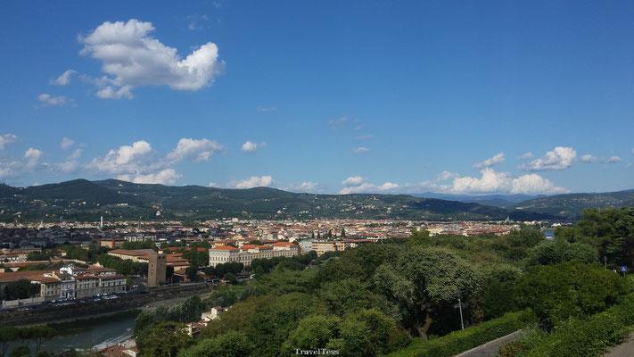 Landschap van Florence
