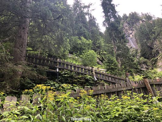 Parcours Krimmler Wasserfälle