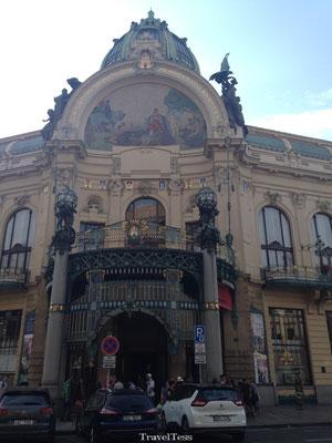Mooi gebouw in Praag