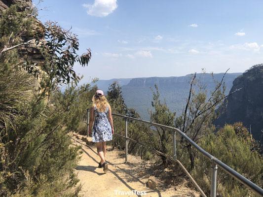 Hiken door Blue Mountains