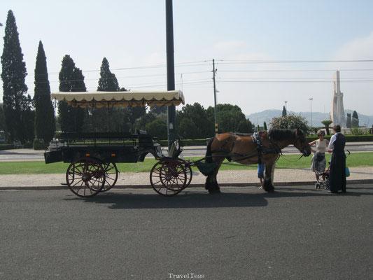Paardenkoets Lissabon