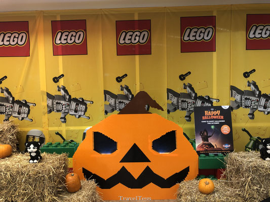 Lego pompoen halloween