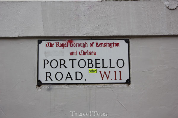 Bord Portobello Road