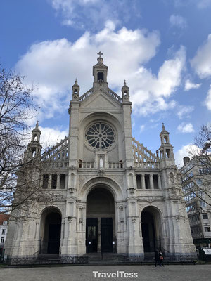 Kathedraal in Brussel