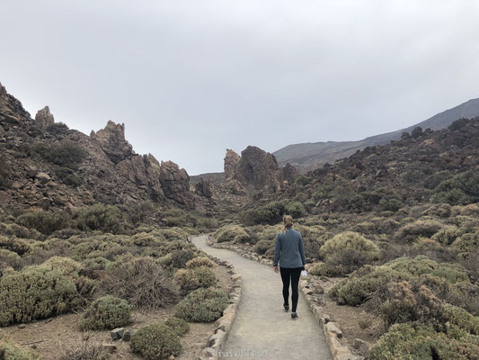 Hiken door El Teide National Park