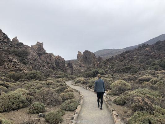 Hiken door El Teide National Park