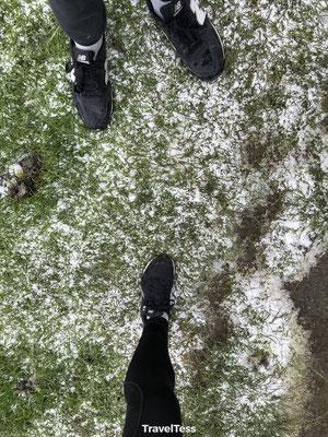 Sneeuw op de Roys Peak