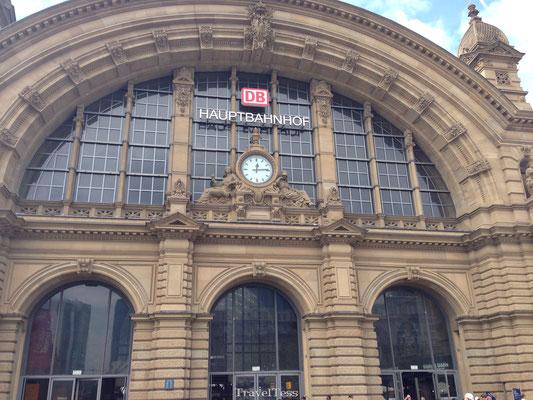 Treinstation Frankfurt
