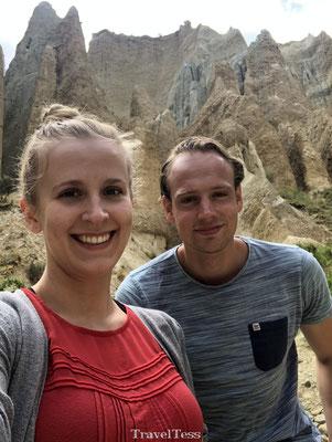 Clay Cliffs in Omarama