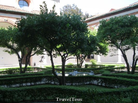 Binnenplaats Milaan