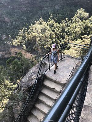 Wandelen door Blue Mountains National Park