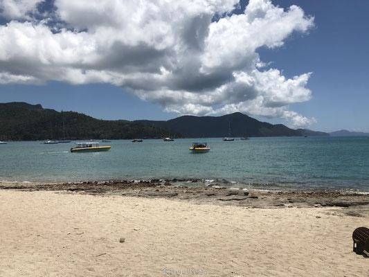 Ocean Rafting brengt ons bij Whitsunday Island